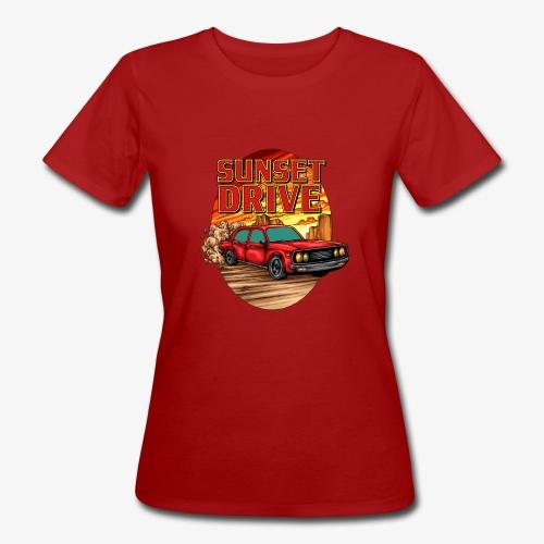 Sunset Drive - Frauen Bio-T-Shirt