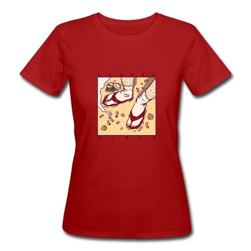 SUMMER VIBES - Ekologiczna koszulka damska