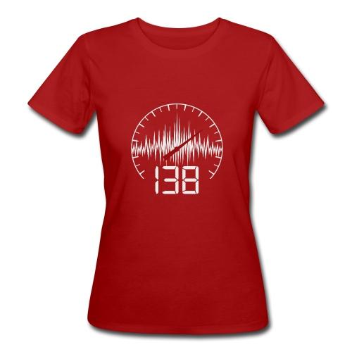 138 (White) - Ekologisk T-shirt dam
