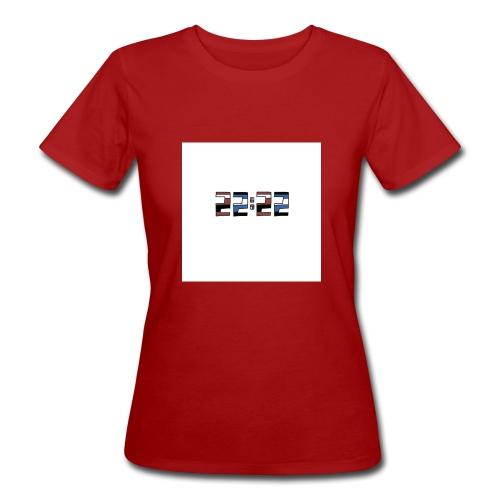 22:22 buttons - Vrouwen Bio-T-shirt