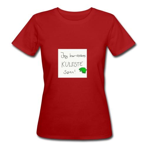 Kul sønn - Økologisk T-skjorte for kvinner