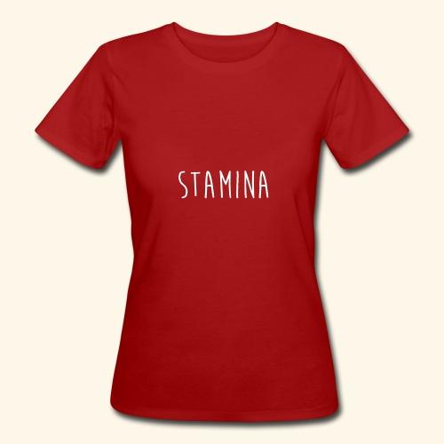 STAMINA - T-shirt bio Femme