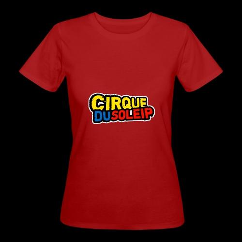 Cirque Du Soleip Letters - Vrouwen Bio-T-shirt