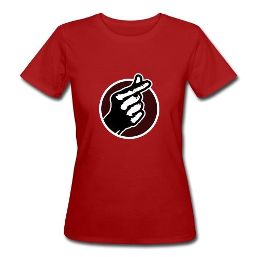 Koreaans Vingerhartje - Vrouwen Bio-T-shirt