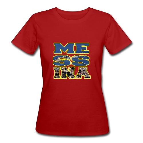 MESSINA YELLOW - T-shirt ecologica da donna