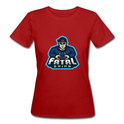 Fatal Grips Merch - Ekologisk T-shirt dam