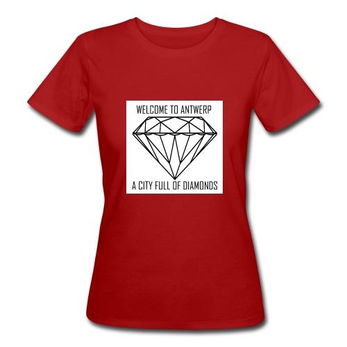 Antwerp lover - Vrouwen Bio-T-shirt