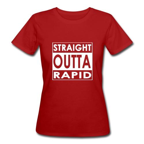 Outta vui rapid - Frauen Bio-T-Shirt