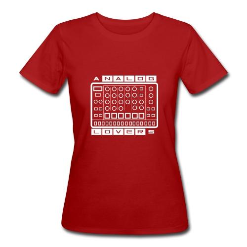 Analog Lovers - T-shirt ecologica da donna