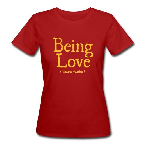 BEING LOVE - T-shirt ecologica da donna