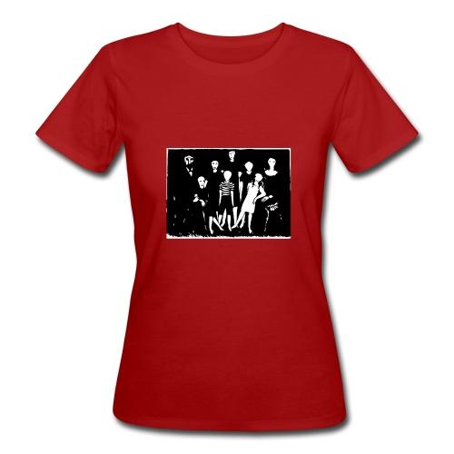 Familienbild - Frauen Bio-T-Shirt