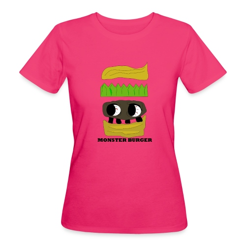 MONSTER BURGER - Frauen Bio-T-Shirt