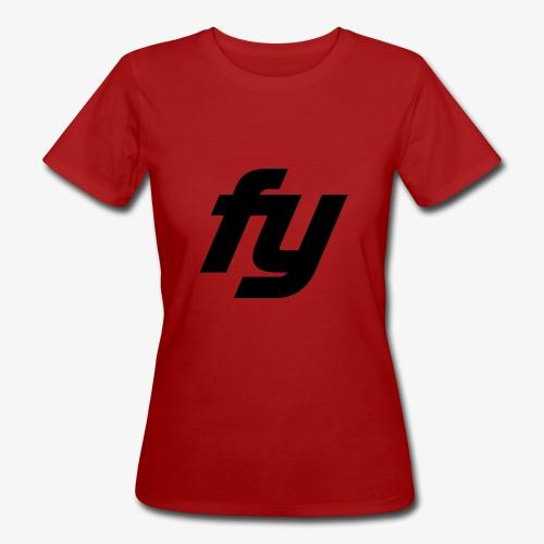 Logo swaggy Schwarz - Frauen Bio-T-Shirt
