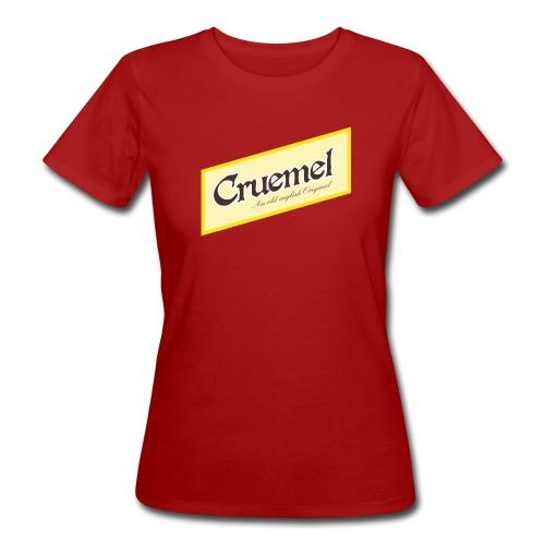 cruemel quer - Frauen Bio-T-Shirt