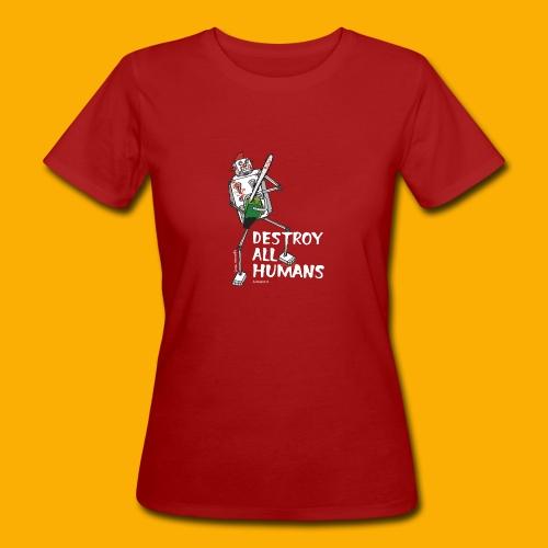 Dat Robot: Destroy Series Killer Clown Dark - Vrouwen Bio-T-shirt