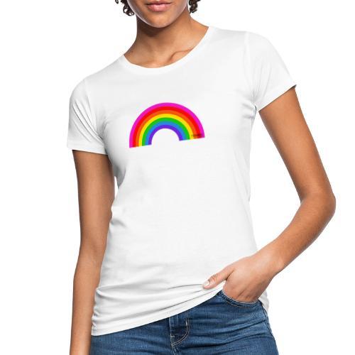 Rainbow - Naisten luonnonmukainen t-paita