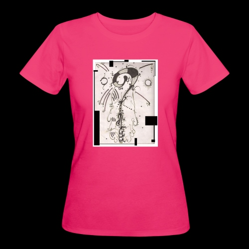 The Shah Do Ha Gallery Of Heaven s Pillar - Women's Organic T-Shirt
