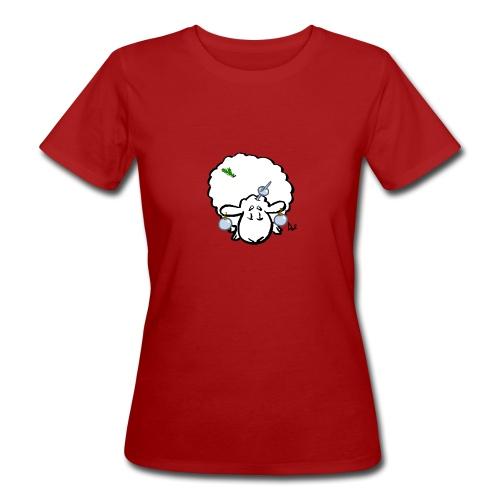 Christmas Tree Sheep - Women's Organic T-Shirt