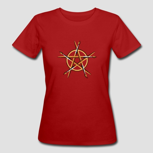 PAGAN PAINTER - Women's Organic T-Shirt