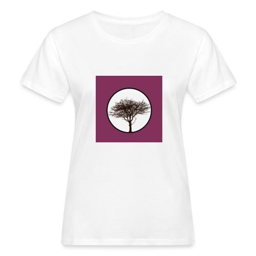 Baum in Kreis - Frauen Bio-T-Shirt