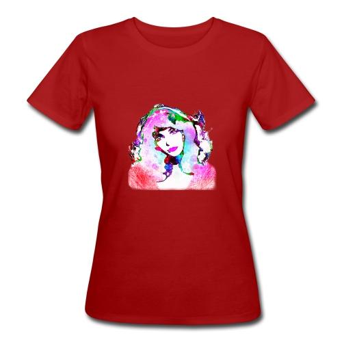 Painted Kate - Frauen Bio-T-Shirt