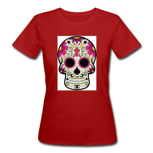 tête messico - T-shirt bio Femme