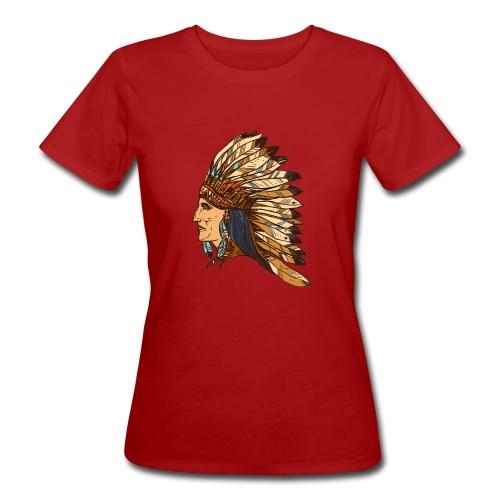 Koszulka Indianin 4 - Ekologiczna koszulka damska