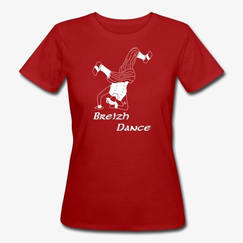 BZH Atypik Design - Breizh Dancer - T-shirt bio Femme