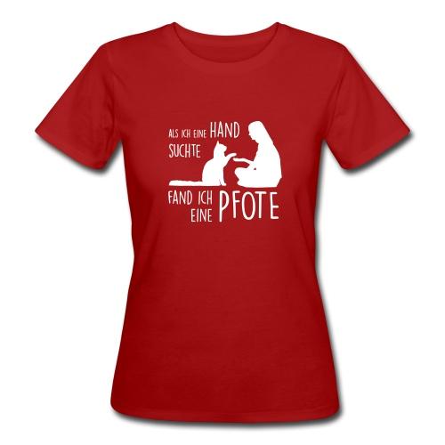 Vorschau: Fand ich eine Pfote - Frauen Bio-T-Shirt