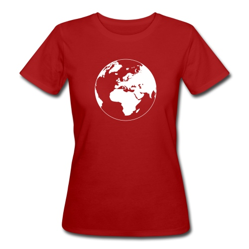 Cool Earth design - Vrouwen Bio-T-shirt
