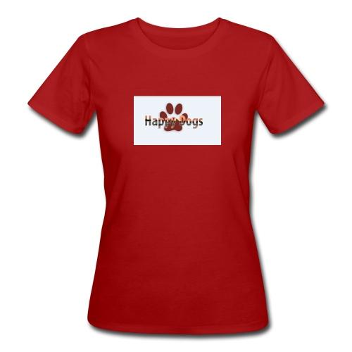 Happy dogs - Frauen Bio-T-Shirt
