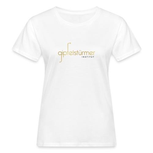 Firmenlogo - Frauen Bio-T-Shirt