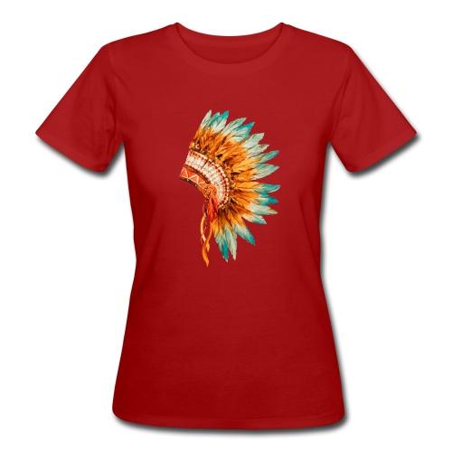 Koszulka Indianie 3 - Ekologiczna koszulka damska