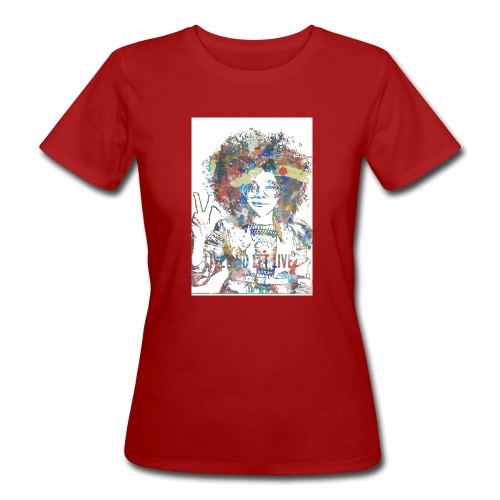 Live and let live, Geschenkidee - Frauen Bio-T-Shirt