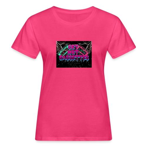 get wet cassettes - Naisten luonnonmukainen t-paita
