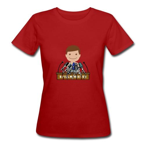 Spillminister logoen - Økologisk T-skjorte for kvinner