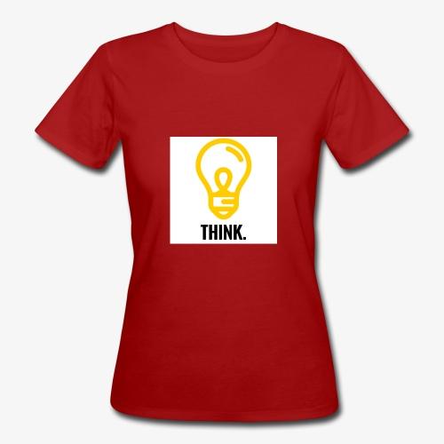 THINK - T-shirt ecologica da donna