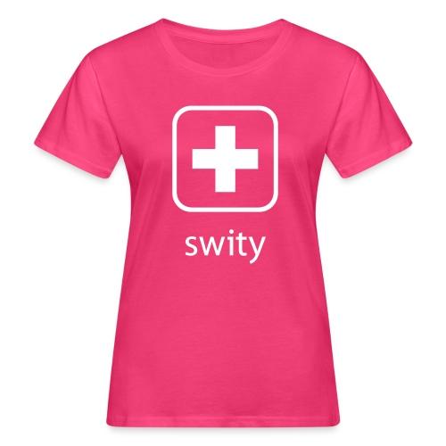 Schweizerkreuz-Kappe (swity) - Frauen Bio-T-Shirt