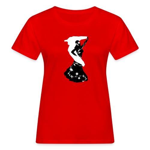 Bellydancer with veil - T-shirt bio Femme