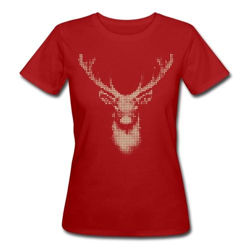 deer png - Frauen Bio-T-Shirt