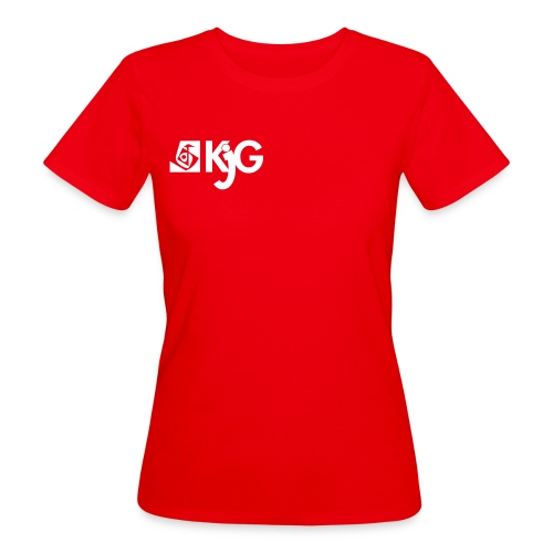 kjglogo 10 - Frauen Bio-T-Shirt