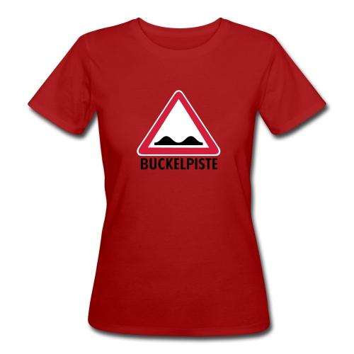 Apre Ski Shirt Buckelpiste Verkehrszeichen - Frauen Bio-T-Shirt