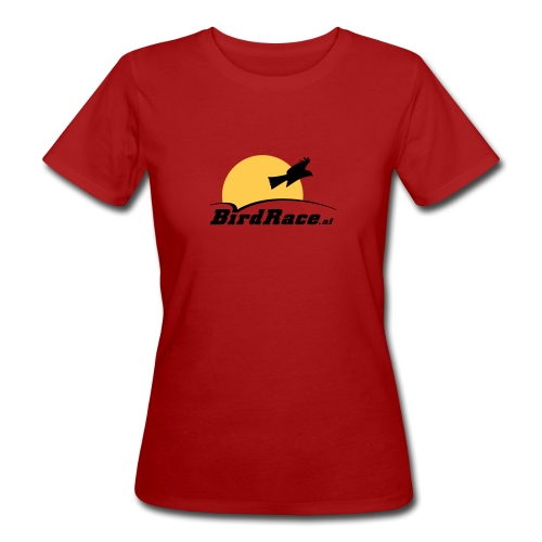 BirdRace at color - Frauen Bio-T-Shirt