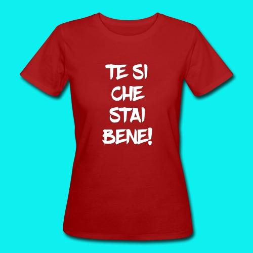 tesiokok - T-shirt ecologica da donna