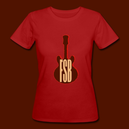 FSB Guitar Logo - Women's Organic T-Shirt