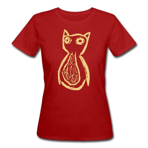 Danas Eule - Frauen Bio-T-Shirt