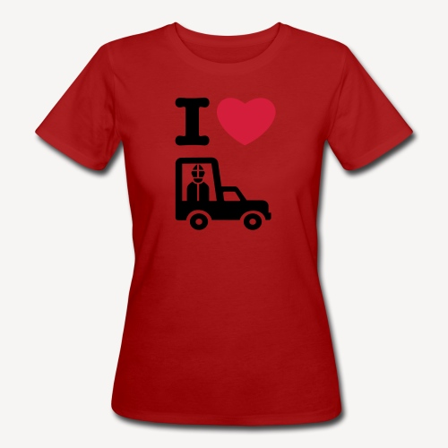 Papst im Auto - Women's Organic T-Shirt