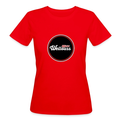 Wellouss Fan T-shirt | Rood - Vrouwen Bio-T-shirt