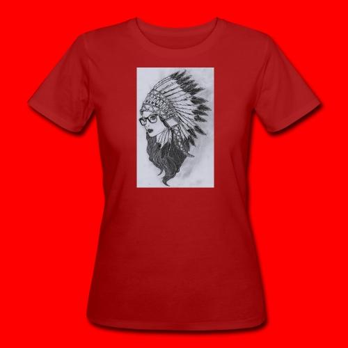 indian - T-shirt ecologica da donna