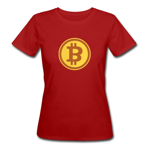 Bitcoin - Frauen Bio-T-Shirt